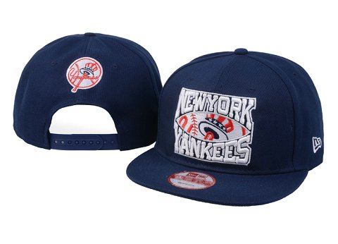 New York Yankees MLB Snapback Hat 60D1